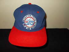 VTG-1990s Winnipeg Jets #1 Apparel fitted wool NHL hockey size 7 hat sku14