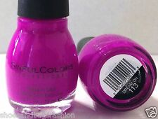 SC SINFUL COLORS PROFESSIONAL NAIL POLISH # 113 DREAM ON Bright Neon Version HTF