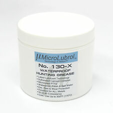 MICROLUBROL 130-X Waterproof Rifle Grease w/ PTFE Outperforms Lubriplate 130-A