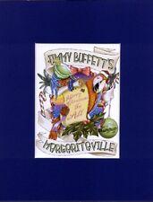 JIMMY BUFFETT ~MERRY CHRISTMAS TO ALL~8X10 Mat Print~ MARGARITAVILLE