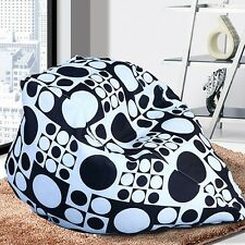 New Unisex Indoor Bean Bag BeanBag Sofa Lounge Chair Letters Home Soft Gifts