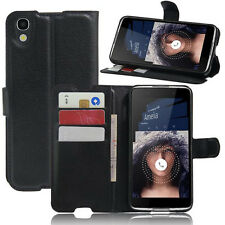 JK Wallet Holder Leather Pouch Case Cover For Alcatel idol 4