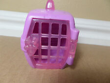 Littlest Pet Shop LPS  PINK  DOG CAT TRAVEL CARRIER CRATE ACCESSORY