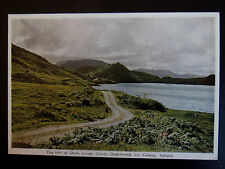 The Hill of Doon Lough Corrib Oughterard Co Galway Ireland Old Postcard