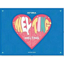 HYUN A -[MELTING]2nd Mini Album CD+Booklet K-POP Sealed 4MINUTE HYUNA CUBE