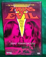 NEW SYNAPSE FILMS HAMMER HORROR COLLECTION TWINS OF EVIL CULT HORROR MOVIE DVD
