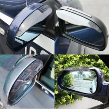 2Pcs Useful Mirror Universal Rear View Black Side Rain Snow Shield For Car