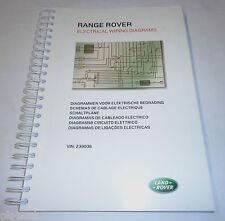 Werkstatthandbuch Elektrische Schaltpläne Range Rover L 322, Stand 2006