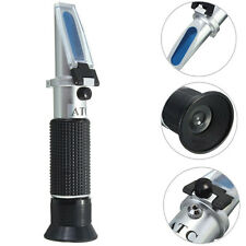 Alcohol Aluminum Material Hand Held 0-80% Distilled Spirit Wine Refractometer