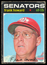 1971 TOPPS OPC O PEE CHEE BASEBALL #620 FRANK HOWARD VG-EX WASHINGTON HOWARD