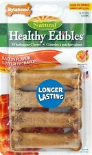 Nylabone Healthy Edibles Bacon Flavored Dog Treat Bone by Nylabone NEW (AOI)