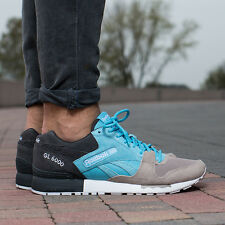 reebok gl 6000 sne blue splash/beach stone uk size 11 brand new in box