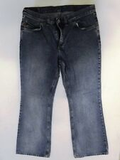 Mustang Bell Bottom Jeans Hose Schlaghose Blau Stonewashed W34 L32