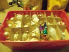 Gorgeous Lot of 70 Vintage Christmas Glass & BULB Ornaments