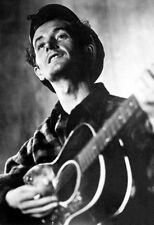 Woody Guthrie Poster, Playing Guitar, Singer, Songwriter
