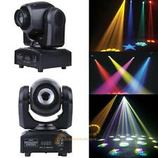50W RGBW LED Laser Moving Head Light DMX-512 DJ Club Disco Bar Stage Party Lamp