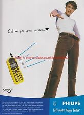 Philips Savvy Mobile Phone 2000 Magazine Advert #7745