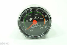 Vintage Classic Bicycle/Bike Speedometer/Analog Mechanical Odometer w/Hardware