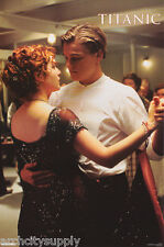 POSTER - MOVIE REPRO: TITANIC -  LEO & KATE DANCING - FREE SHIP #1682 RP85 J