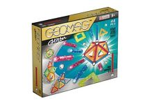 Geomag Color GLITTER 44 Constuction System Magnetic Building Toy Set -SWISS MADE