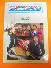 BOOK  LIBRO CHARTRBUSTERS 1988 MADONNA MICHAEL JACKSON QUEEN  lp dvd live