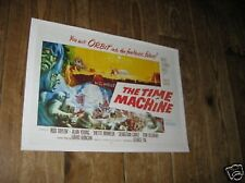 The Time Machine HG Wells Repro Film POSTER