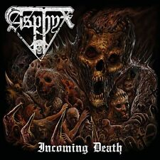 "ASPHYX ""Incoming Death"" NEW Jewel Case CD 2016 Death Metal; pestilence dismember"