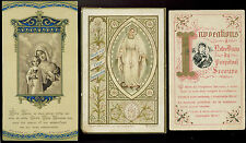 lotto santini-holy cards lot-lot images pieuses-konvolut heiligenbildichen 2505