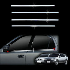 Chrome Door Window Sill Belt Molding Trim Cover for 03-06 Sorento