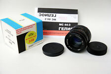 Helios 44-3 58mm f/2 MC (multicoated), infinity focus, full CLA, excellent+++