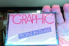 The Graphic- People In Glass- new/sealed cassette tape- 1984- rare?
