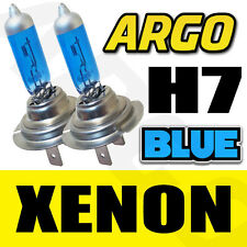 H7 XENON ICE BLUE 499 HEADLIGHT BULBS 12V VAUXHALL OMEGA