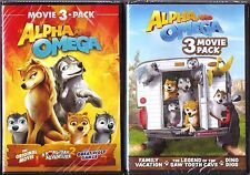 6-Movie Alpha and Omega 1, 2, 3, 4, 5 & 6 - DVD Collection - BRAND NEW