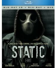 Static [3 Discs] [3D/2D] [Blu-ray/DVD] (2013, REGION A Blu-ray New)