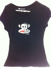 Paul Frank Industries Monkey   Womens Girls shirt Shirt T-Shirt Medium PF New