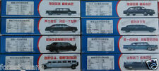 8pcs varieties stretch limousines 4D CAR MODEL KIT 1/87 SCALE Car Assemble Kit