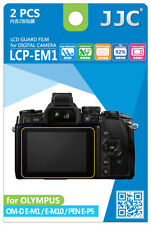 JJC LCP-EM1 LCD Guard Film Camera Screen Protector for OLYMPUS OM-D E-M1 10 E-P5
