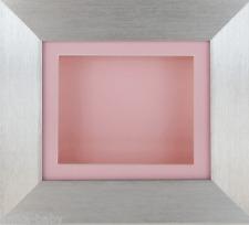 Nuevo Pequeño Plata Profundo Caja Recuerdos Marco fotos 3D 2D Imagen Objetos