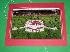 Middlesbrough FC 2016/17 Squad Signed x 18 & Mounted Stadium Photograph