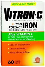 Vitron-C Coated Tablets 60 Tablets