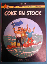 TINTIN COKE EN STOCK CASTERMAN OCTOBRE 1980 (MJ)