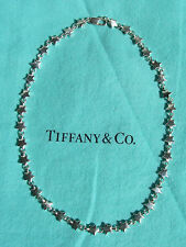 TIFFANY & CO. STERLING SILVER CHAIN OF STARS NECKLACEI!!!