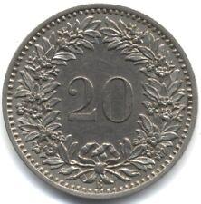 1884 Switzerland 20 Rappen***Collectors***