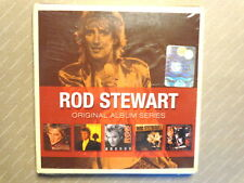 ROD STEWART  -  ORIGINAL ALBUM SERIES  -  5 CD WARNER  2009  NUOVO E SIGILLATO