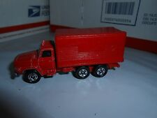 VTG 1970s TOMICA TOMY NISSAN DIESEL RED BOX TRUCK NO. 16 MADE IN JAPAN S-1/102