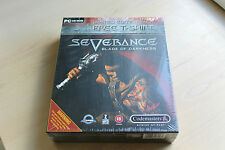 Grande boite severance Blade of darkness Ltd Edition avec freetshirt PC CD Neuf Seald