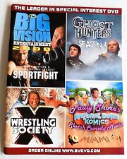 Big Vision Pro Wrestling Video Library Catalog Order Hardy Society X Punk MMA X2