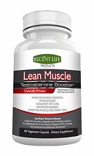Lean Muscle Testosterone Booster All Natural Top Seller