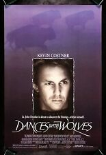 DANCES WITH WOLVES * CineMasterpieces ORIGINAL DS MOVIE POSTER 1990