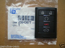 2008-2013 Cadillac STS CTS Keyless Remote Key Entry Fob Transmitter GM#25943677